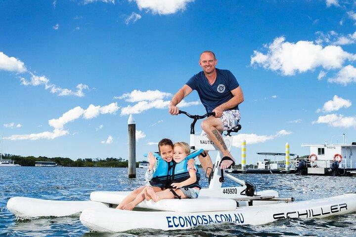 Self Guided Water Bike Tour of the Noosa River, Noosa y Sunshine Coast, AUSTRALIA