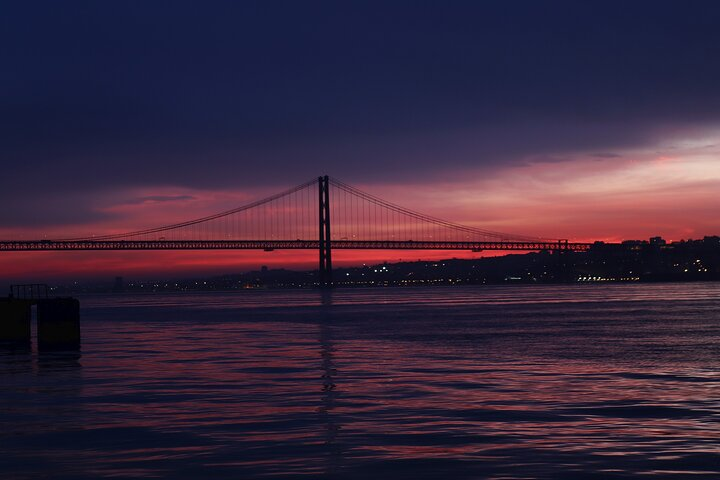 Sunset cruise on the Tajo river in Lisbon, Lisbon, PORTUGAL