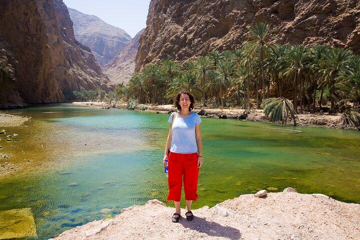 Wadi Shab Coastal Trekking, Mascate, OMAN