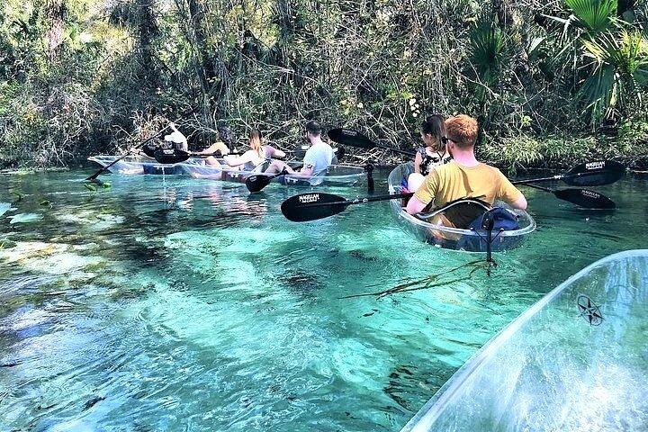 2-Hour Glass Bottom Guided Kayak Eco Tour in Rock Springs (Small-Group), Orlando, FL, ESTADOS UNIDOS