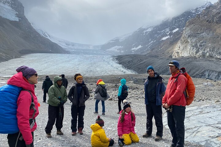 Guided Glacier Hike on The Athabasca with IceWalks - 10am Departure, Jasper, CANADA