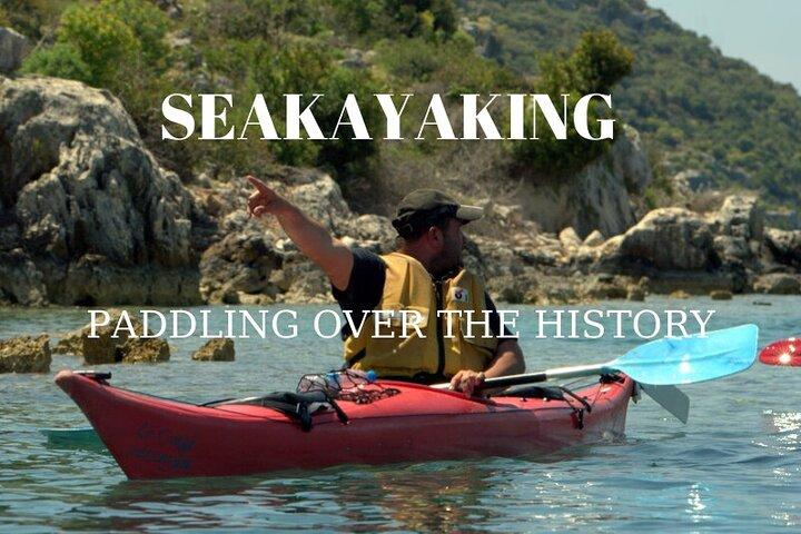 Sea kayaking Over The Sunkencity Of Kekova From Kas - Kalkan, Kas, TURQUIA