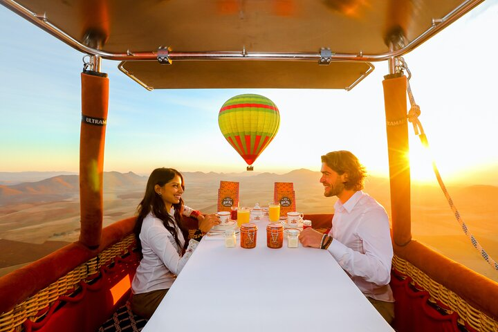 Exceptional Private ROYAL Hot Air Balloon Flight with Seated Air Breakfast, Marrakech, Morocco City, Morocco