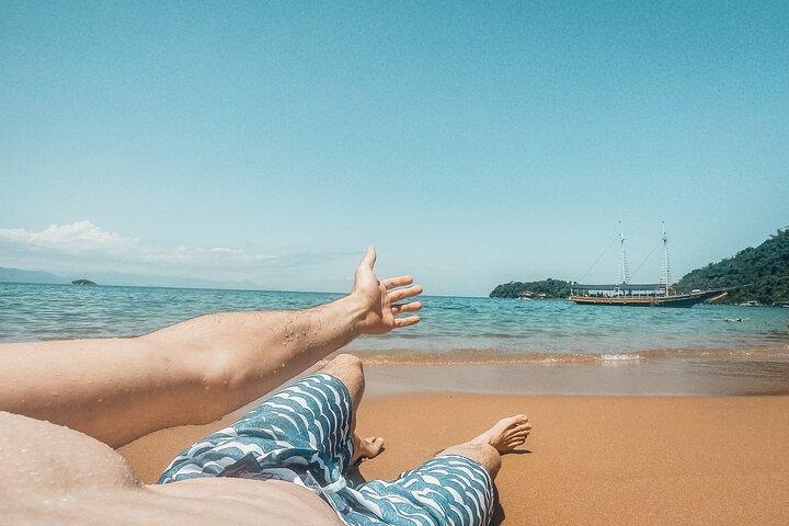Passeio de Escuna pela Baía de Paraty, Paraty, BRASIL