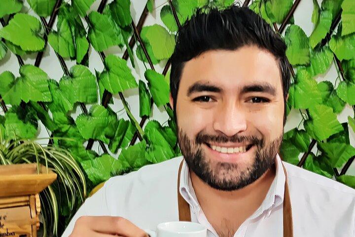 Original virtual coffee experience with coffee producer, Bogota, Colômbia