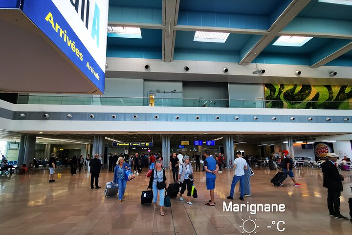 Transfer from Cruise terminal of Marseille to Marseille airport, Marsella, FRANCIA