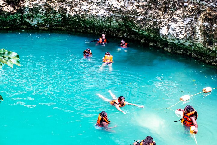 Combo from Cancun - Zipline Cenote ATV (Shared) and Lunch, Cancun, Mexico