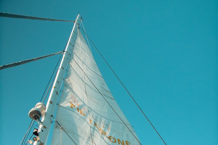 Full-Day Catamaran Cruise with Lunch in Island of Malta, ,