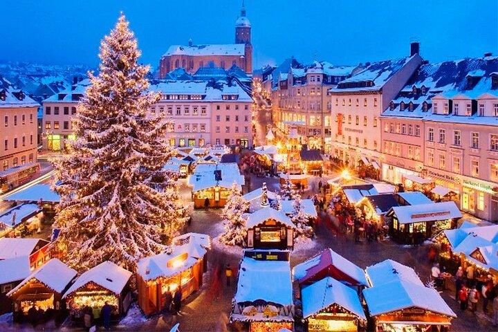Christmas tour in Lausanne, Lausana, Switzerland