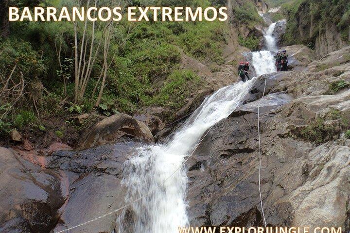 Canyoning - Barranquismo Con La Cascada Mas Grande - 45 Metros, Baños, ECUADOR