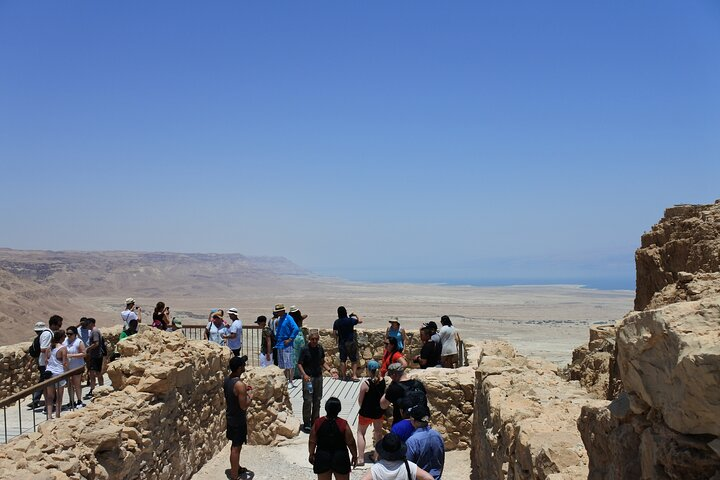Small Group Day Trip to Masada and Dead Sea from Jerusalem, Jerusalen, ISRAEL