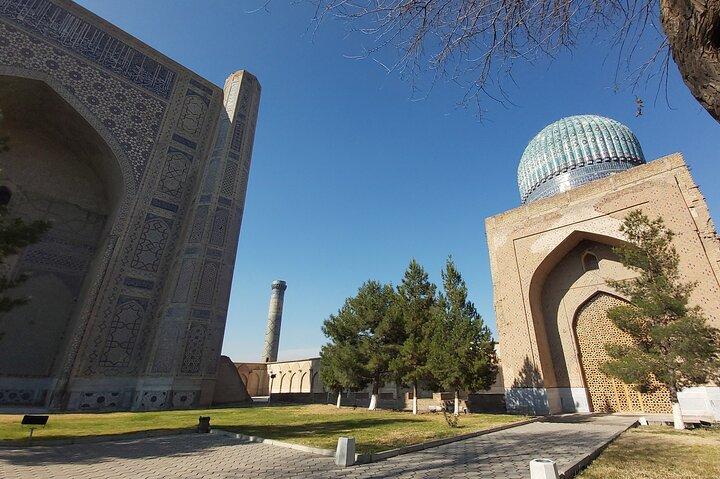 Online Sightseeing Tour in Samarkand: Registan and Bibi Khonum Mosque, Samarcanda, UZBEKISTAN