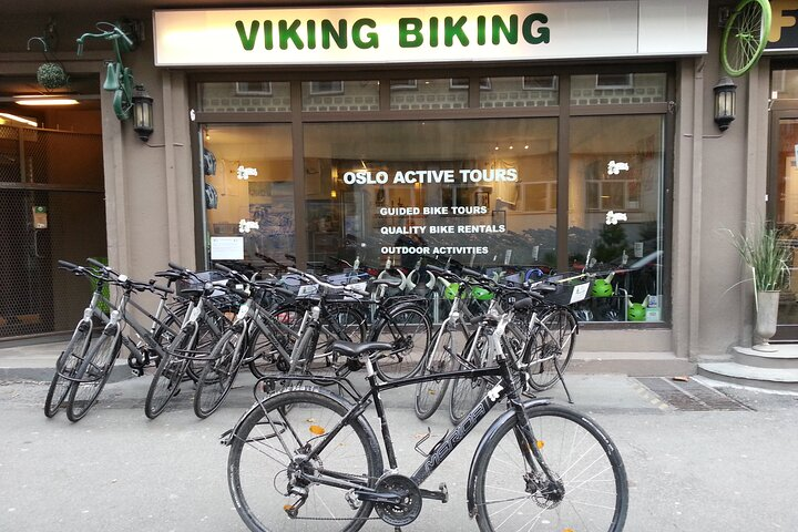 Aluguel de bicicleta em Oslo, Oslo, NORUEGA