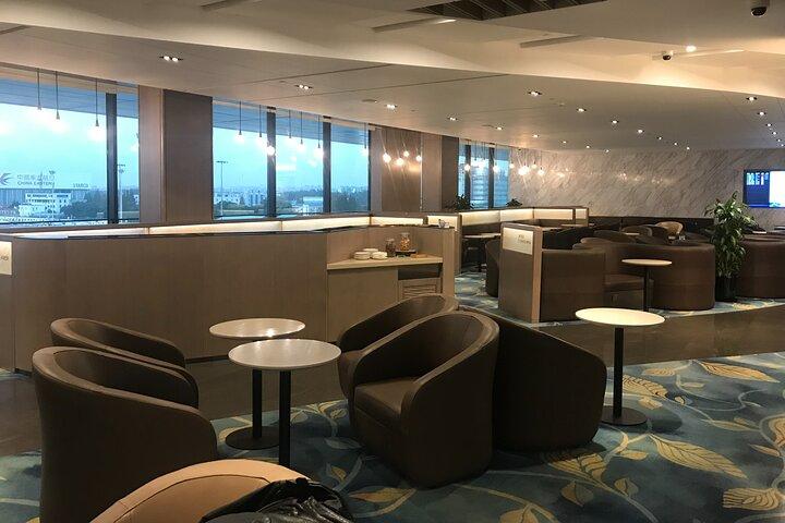 Sala del aeropuerto internacional de Shanghai Pudong o Hongqiao, Shanghai, CHINA