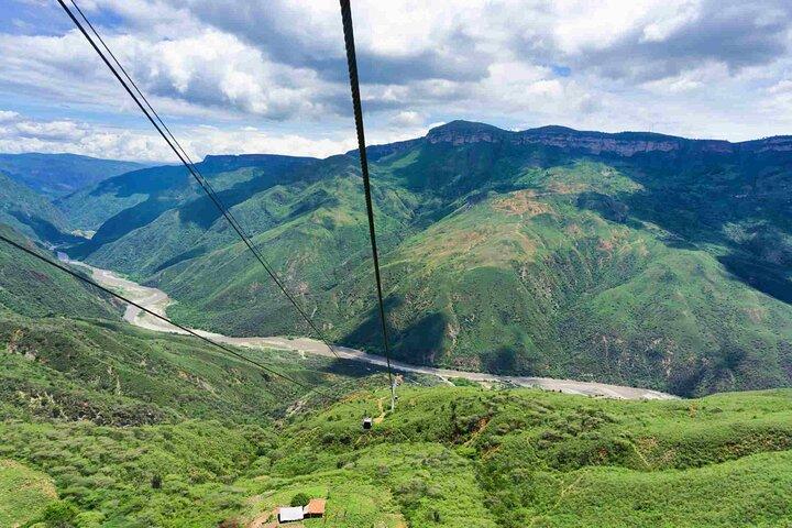 Bucaramanga, PANACHI Canyon Cable Car + Barichara tour, Bucaramanga, COLOMBIA