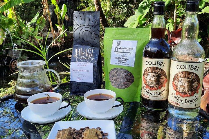 Geisha Coffee Tasting Experience, Boquete, PANAMA