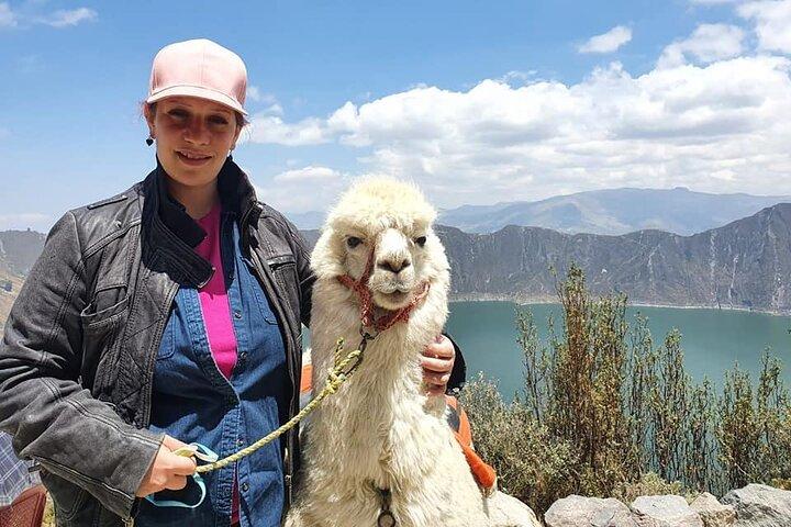 Quilotoa Laguna Daytour, Quito, ECUADOR