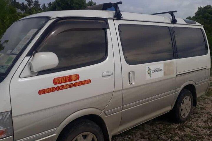 Airport transfer to/from Nungwi, Matemwe, Kiwengwa, East coat and South, Zanzibar, TANZANIA
