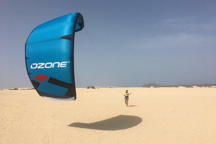 Learn to kite now! Full beginner course!, Puerto del Rosario, Espanha