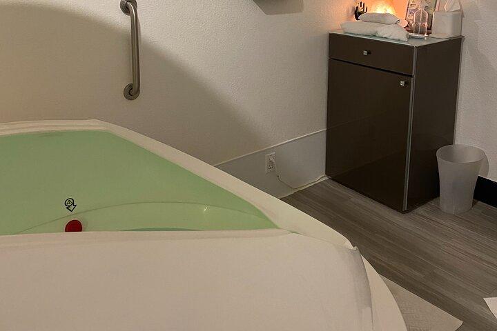 A natural healing experience in a private epsom salt bath., Boulder, CO, ESTADOS UNIDOS