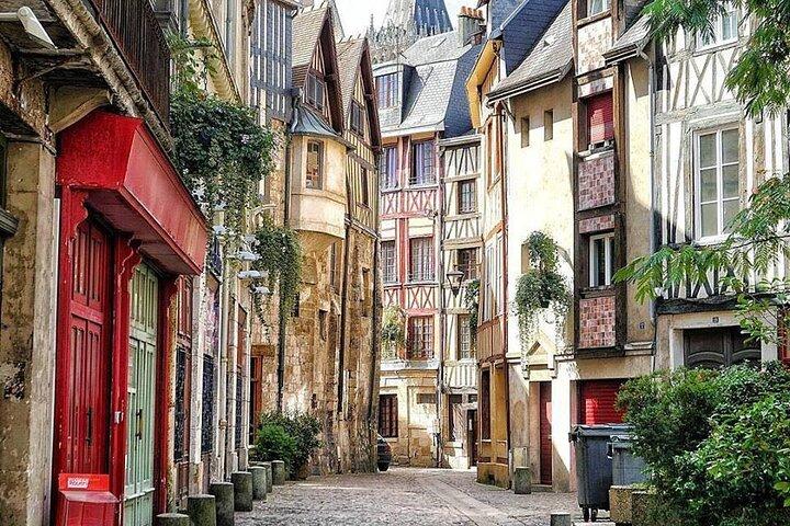 Historical private visit of Rouen in RUSSIAN, Ruan, FRANCIA