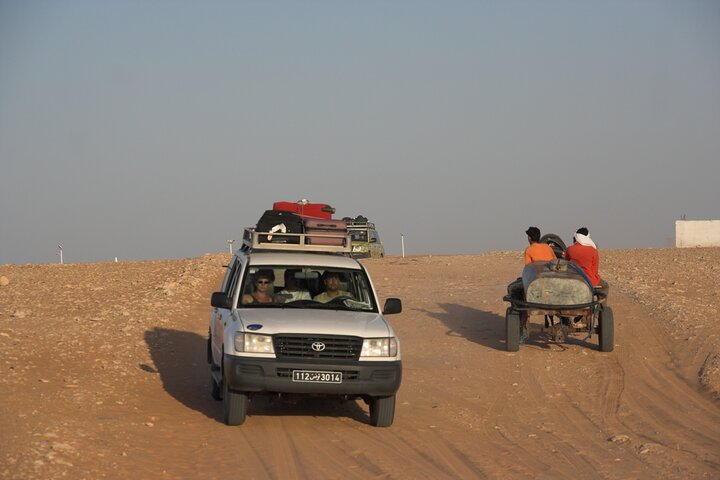 2 Days 4x4 PRIVATE safari from Sousse, Hammamet, Tunis, night in tent, ,
