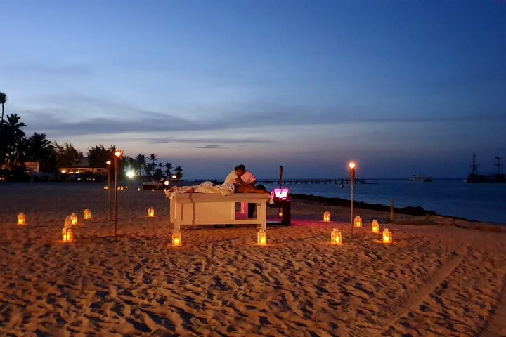 Romantic Punta Cana Moonlight Beach Massage for Two, Punta de Cana, REPUBLICA DOMINICANA