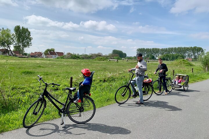 Private Scenic bike tour Bruges countryside, Brujas, BELGICA