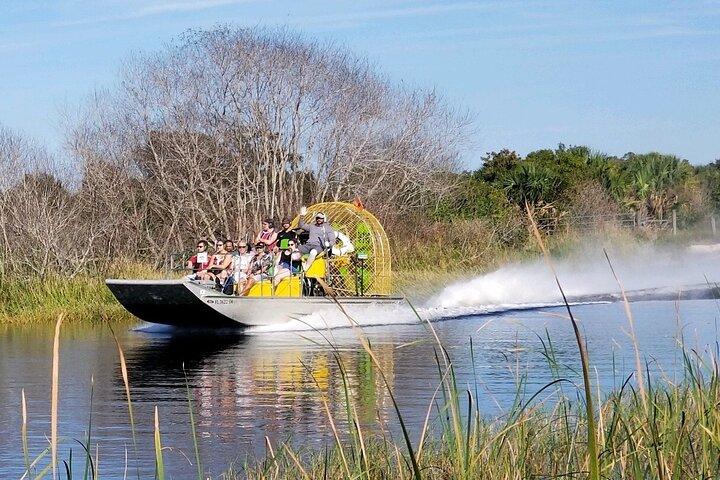 90-min Everglades Airboat Tour in Central Florida, Orlando, FL, UNITED STATES