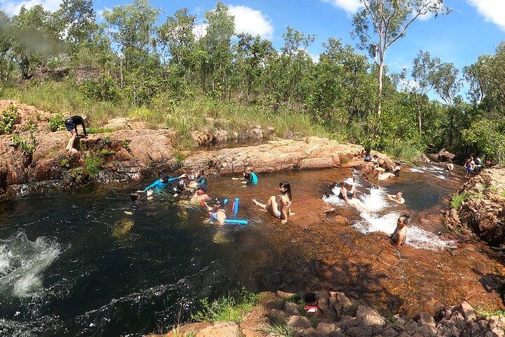 Litchfield Park Adventures and Jumping Crocodile Cruise + Butterfly Farm, Darwin, AUSTRALIA