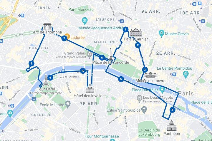 Recorrido con paradas libres en París, Paris, FRANCIA