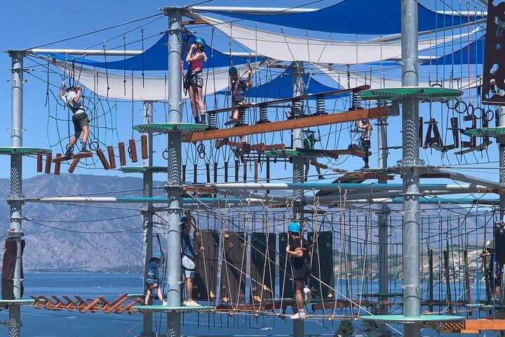 Chelan Climb and Zipline Adventure, Chelan, WA, ESTADOS UNIDOS