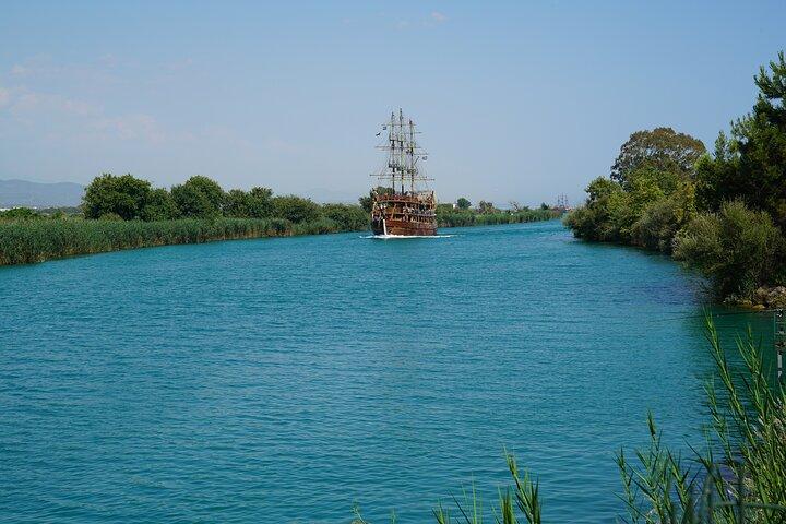 Manavgat All Inclusive Boat Trip, Side, TURQUIA
