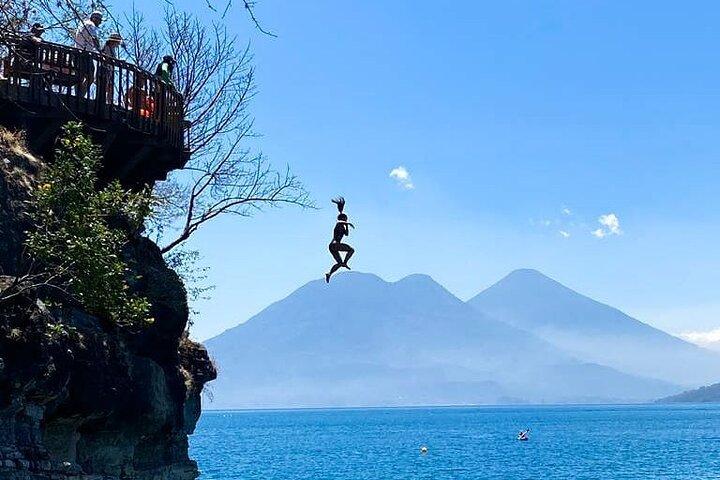 Hike The Indian Nose Peak + Cliff Diving in Lake Atitlan - Tour From Atitlan, San Pedro La Laguna, GUATEMALA