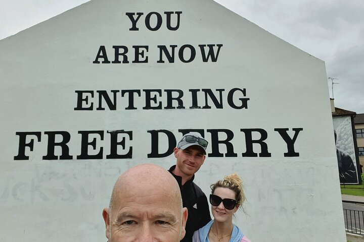 The Troubles, Bogside Walking Tour., Londonderry, Ireland