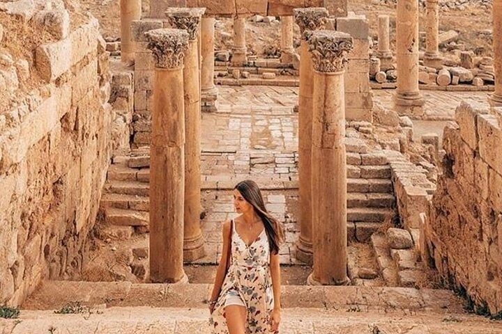 Amman City Tour & Jerash Day Trip from Dead Sea or Airport or Madaba, ,