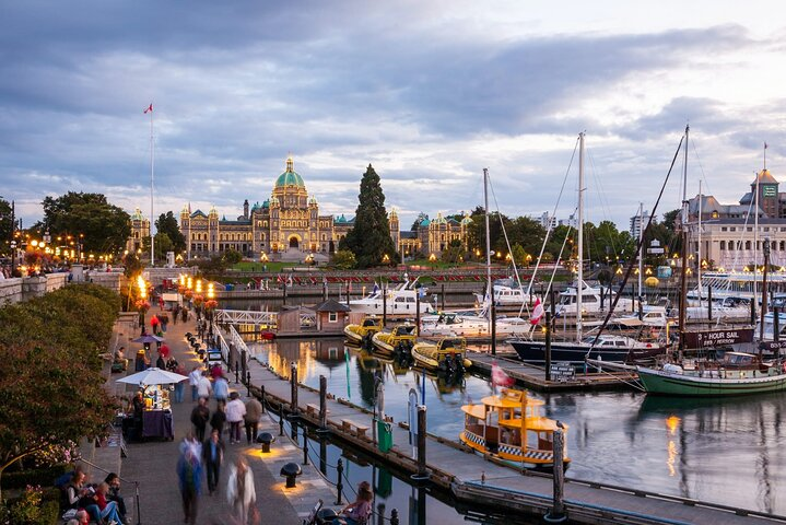 Victoria Self-Guided Audio Tour, Isla de Vancouver, CANADA