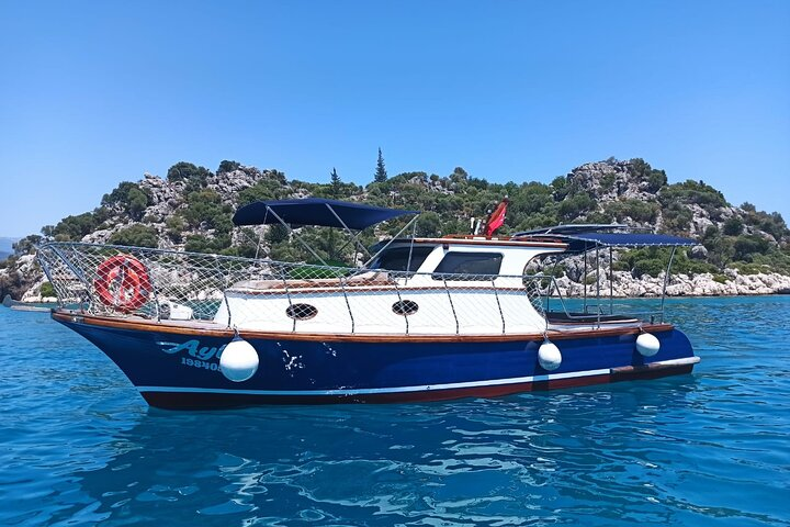 Private Kekova Boat Cruise from Demre Harbour, Kas, TURQUIA