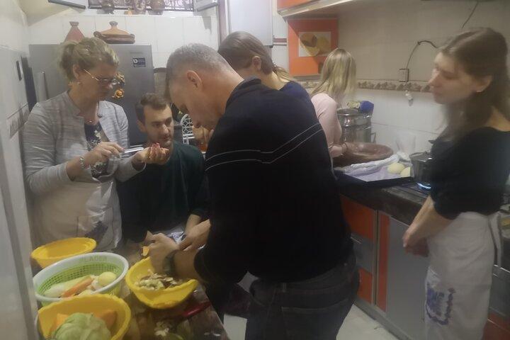 Cours de cuisines chez l'habitant, Fez, MARRUECOS