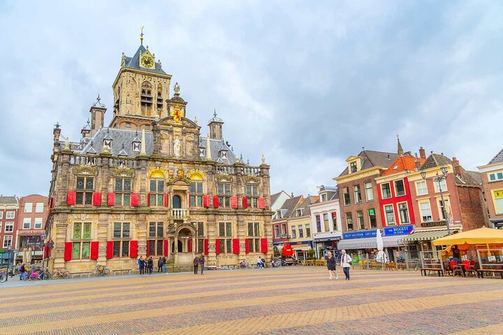 Delft Highlights Private Tour: The Blue's Clues Exploration Game, The Hague, HOLLAND