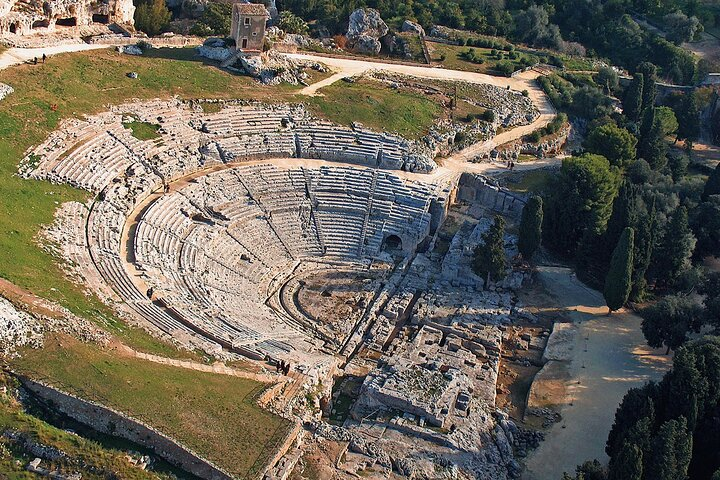 Explore Syracuse and its Archaeological Park from Taormina, ,