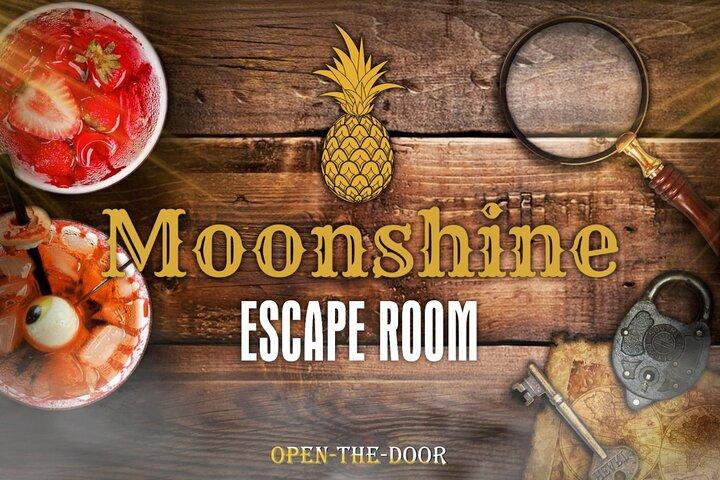 Moonshine Escape Room Game, Jerusalen, ISRAEL