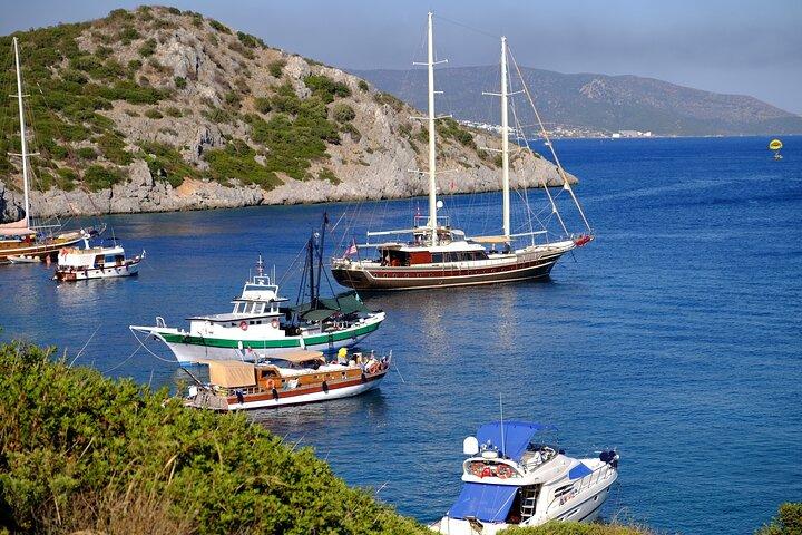 Bodrum Peninsula Lazy Day Boat Trip, Bodrum, TURQUIA
